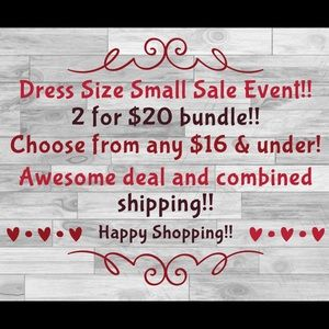 Dresses & Skirts - 🔥🔥2 for $20 SALE EVENT‼️🔥🔥👌